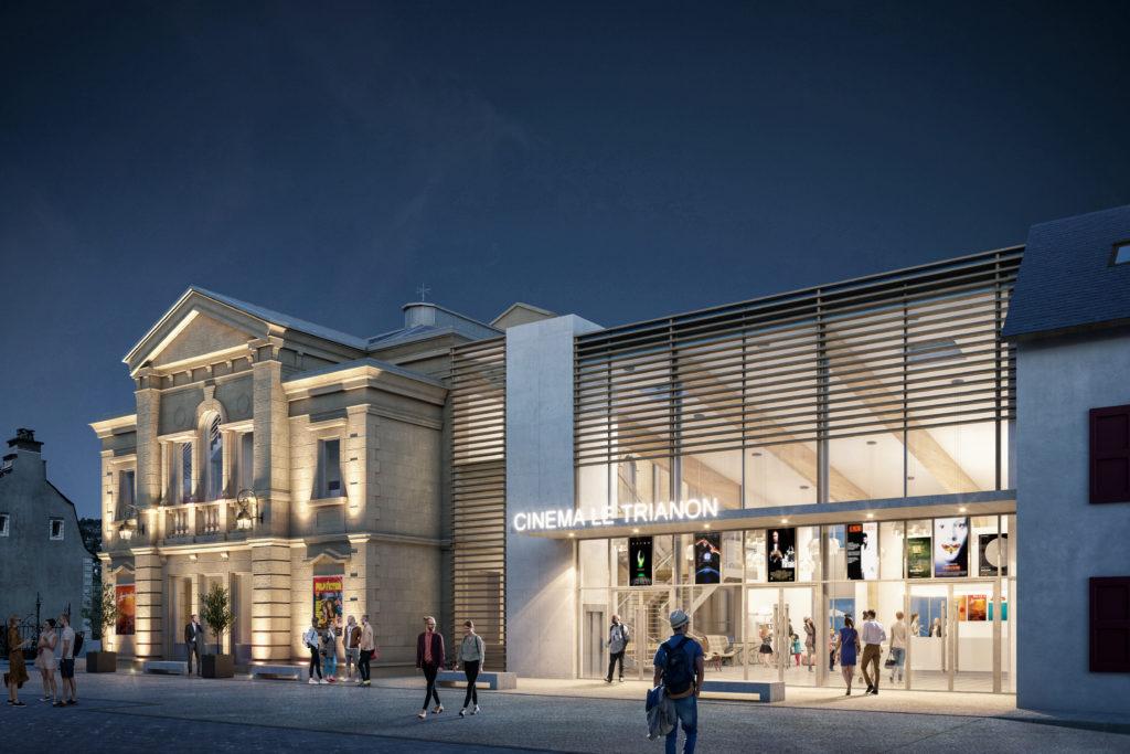 Cinéma le Trianon - Bonnet&Teissier Architectes